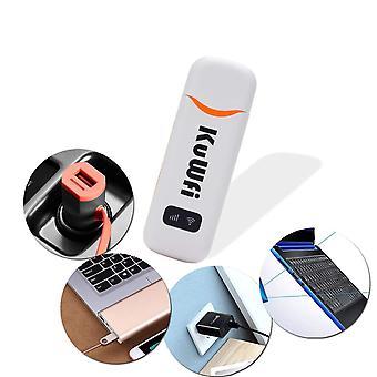 3G/4g Dongle, 150mbps tragbare 4g USB Auto Dongle mit SIM-Karte Steckplatz Unterstützung b1/b3/b7/b8/b20 mit 3/o