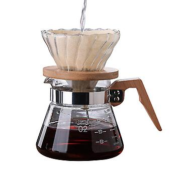 Hand Drip Sharing Pot Filter Funnel Portable Coffee Maker Supplies