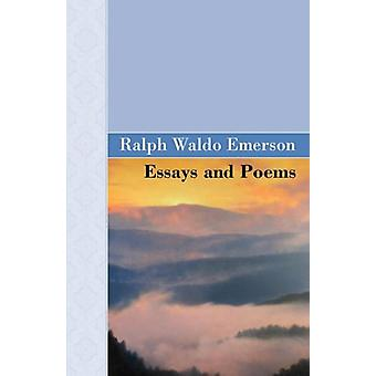 Essays and Poems by Ralph Waldo Emerson - 9781605123424 Book