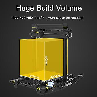 Anycubic chiron 3d printer large size 400x400x450mm³ extruder dual z axis fdm 3d printers pla filaments 3d printing