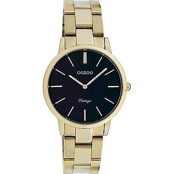 Oozoo - Women's Watch - C20047 - Gold Black