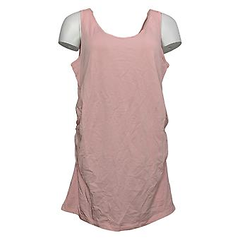 Tutto degno donna Top Hunter McGrady Scoop-Neck Long Tank Pink A377966