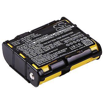Two-Way Radio Battery for KENWOOD KNB-27 KNB-27N TK-3130 TK-3131 Ni-MH 1100mAh