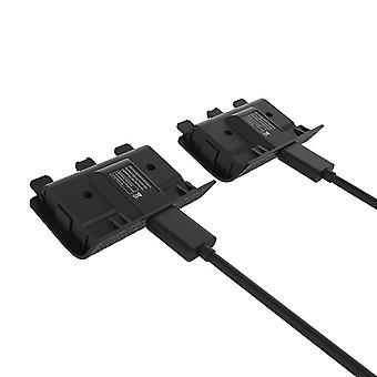 2 Batteries And Charging Cable For Xbox Series X And S