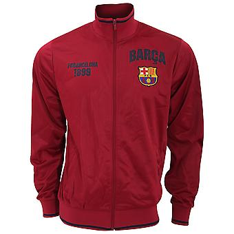 FC Barcelona Miesten virallinen urheilullinen jalkapallo Crest Takki
