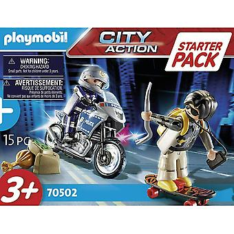 Playmobil Starter Pack City Action Police Chase 70502 Alter 4 - 10