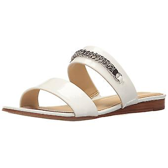 Marc Fisher Womens Faee Open Toe Casual Slide Sandals