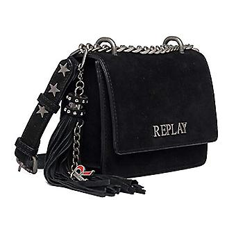REPLAY FW3001, Women's Folder Bag, 098 Black, UNIC(1)