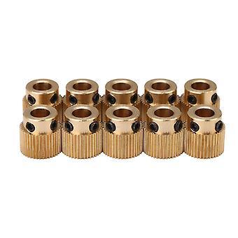 עבור 10x פליז 40 שיני כונן הילוכים גלגל הבלטה תחליף עבור אנדר 3 WS4542