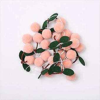 Bayberry Huopa pallo käsintehty Garland String Roikkuvat koristeet