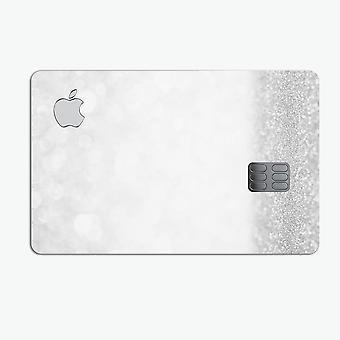 Ezüst és fehér fókuszálatlan csillogású gömbök - Prémium védő matrica