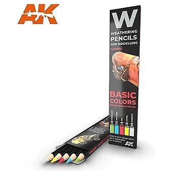 AKインタラクティブ - AK10045風化鉛筆セット