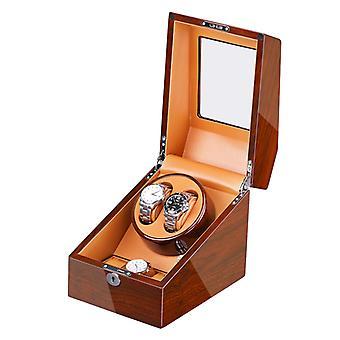 Se Winder med 2 quiet winding box+ 3 opbevaringskasse ebony+brun