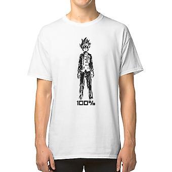 Mob 100% T shirt mob psyko 100 shigeo