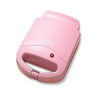 Pink 21.5x15.3x10.5cm home sandwich maker quick breakfast machine safe portable easy to operate homi4416