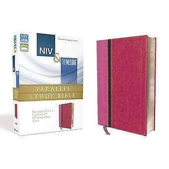NIV amp The Message Parallel Study Bible Zwei Bibelversionen zusammen mit NIV Study Bible Notes by Foreword von Eugene H Peterson