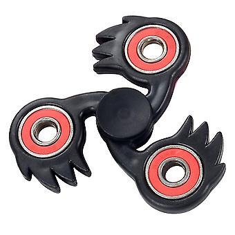 Stylish De-stress Hand Spinner Led Lighted Hand Fingertip Spinner For Children