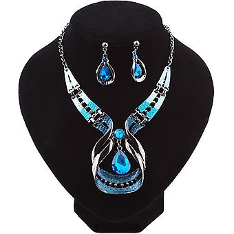 Valentine's Day Necklace Earring Set