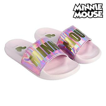 Swimming Pool Slippers Minnie Mouse Pink