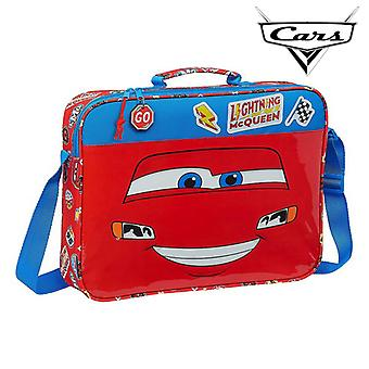 Briefcase Cars Mc Queen Blue Red
