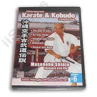 Okinawa Karaté Kobudo #6 Dvd Shinjo Shobukan Goju -Vd6963A
