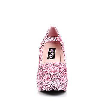 Ropa y Accesorios Funtasma > Disfraces y Accesorios > Zapatos de Disfraces > Mujeres MARYJANE-50G B. Gltr Rosa
