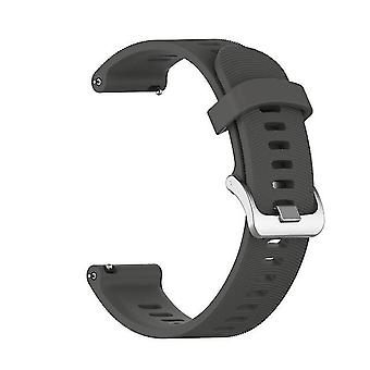 Reemplazo Soft Silicone Strap para Garmin Forerunner 245M / 245 - Gray
