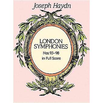 Komplette Londoner Symphonien Nr. 9398 von Joseph Haydn