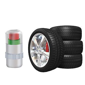 4 Pcs Tire Pressure Monitoring Valve Cap 36psi Monitor Sensor Indicator