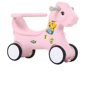 Reifen Reitspielzeug für Kinder (Rosa)