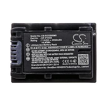 Cameron Sino Sdx500Mx Battery Replacement For Sony Camera