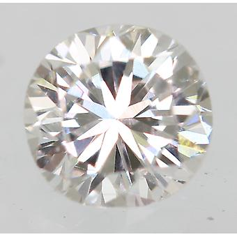 Certified 0.16 Carat E Color VVS2 Round Brilliant Natural Loose Diamond 3.42mm