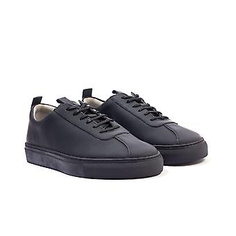Grenson 1 Leather Trainers - Matte Black