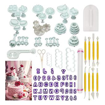 Cake Tools Flower Fondant Cake Decorating Kit Cookie Mould Icing