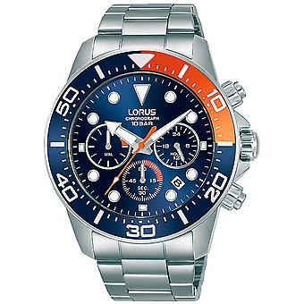 Lorus RT345JX9 Herren Sport Chronograph Uhr Edelstahl Armband
