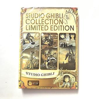 Dvd blu-ray spillere hayao miyazaki studio ghibli samling limited edition 6dvd 18 bedste film
