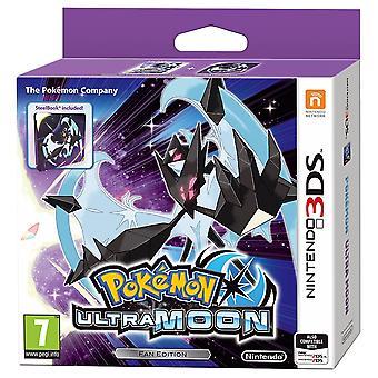 Pokemon Ultra Moon Steelbook Fan Edition 3DS -peli