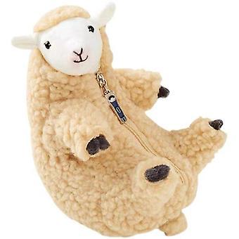 צעצועי בובת כבשה יפה מעט ממולא רך & בעלי חיים קטיפה מצחיק בובה סימולציה כבש לילדים מתנות kawaii צעצועים גאוניים