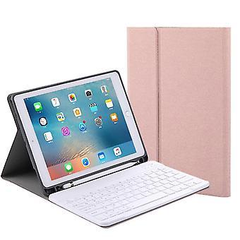 Keyboards qwert apple ipad 10.2In 2019 detachable wireless bluetooth keyboard tablet bluetooth keyboard case pink