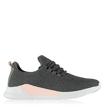 Fabric Womens Santo Trainers Sneakers Sports Shoes Runners Running Padded Comfy