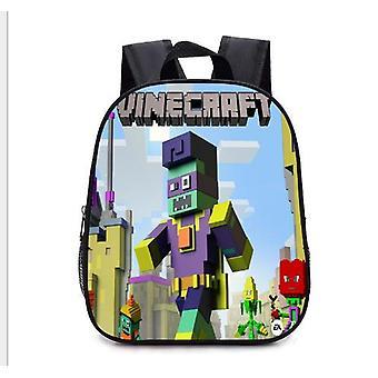 Nuevo Minecraft impermeable mochila para niños Mochila escolar