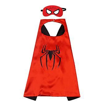 Szerepjáték Köpeny fiú lány Halloween Szuperhősök Darabok Szövet Bosszúállók Unió Pókember / Óriás / Vasember / Amerikai kapitány