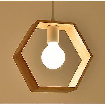 Kreatywne oświetlenie Przemysłowe drewniane lampy sufitowe Nowoczesne lampy Lampy wiszące