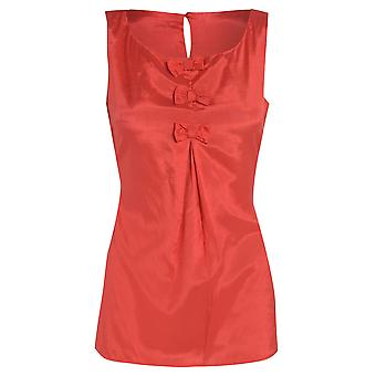 DP Red Bow Top UK SIZE 8