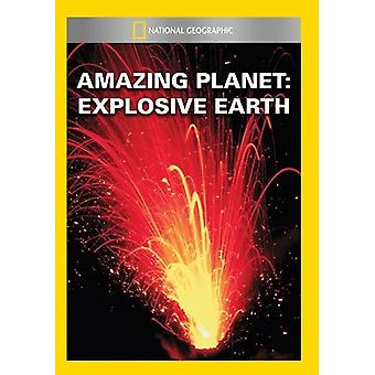 Amazing Planet: Explosive Earth [DVD] USA import