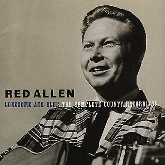 Red Allen - Lonesome & Blue: Complete Country Recordings [CD] USA import