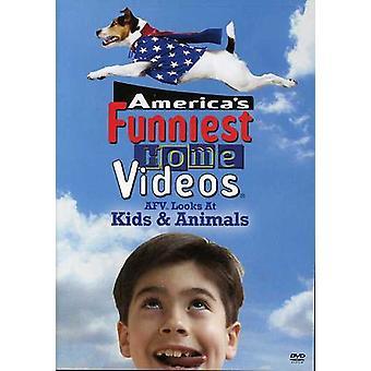 Mira la importación de los E.e.u.u. de los niños y animales [DVD]