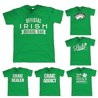 Mens grappig St Patricks dag T Shirt - keuze van ontwerpen