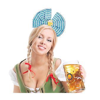 Bow pe banda de păr Oktoberfest Wiesn Resi decorare Carenaj
