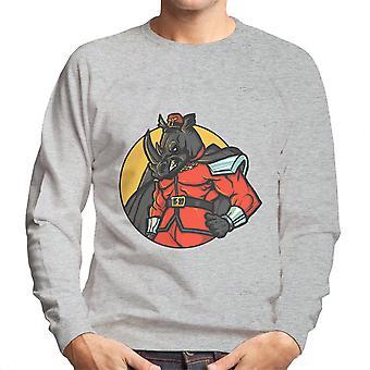 Rechtmatig kwaad M Bison Rhino Street Fighter mannen Sweatshirt